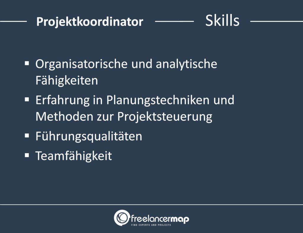 Projektkoordinator-Skills