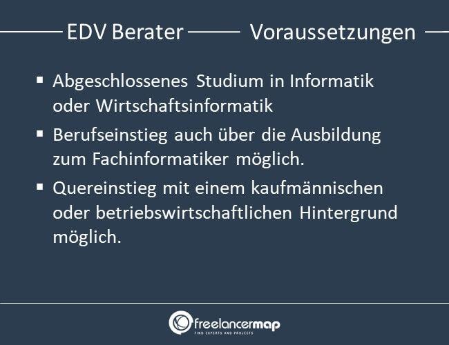 Voraussetzungen, die ein EDV Berater mitbringen muss