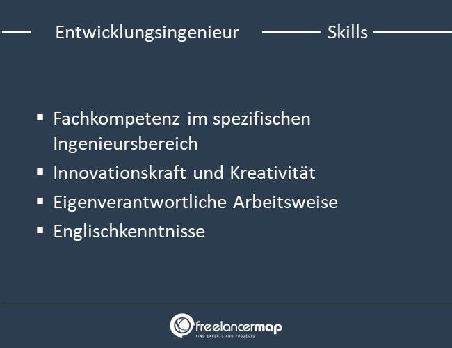 Die Skills, die ein Entwicklungsingenieur braucht