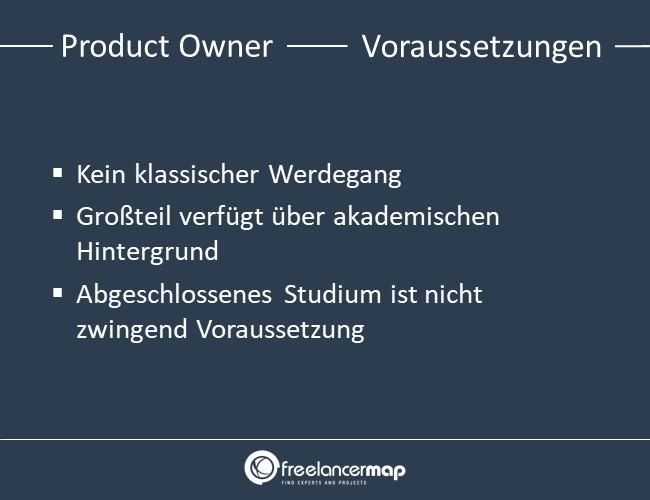 Product Owner-voraussetzungen