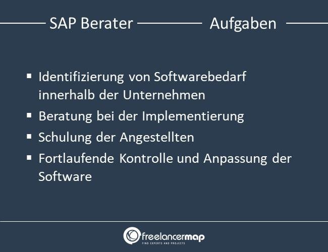 Aufgaben eines SAP Beraters