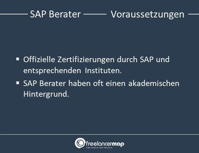 Voraussetzungen, die ein SAP Berater mitbringen muss