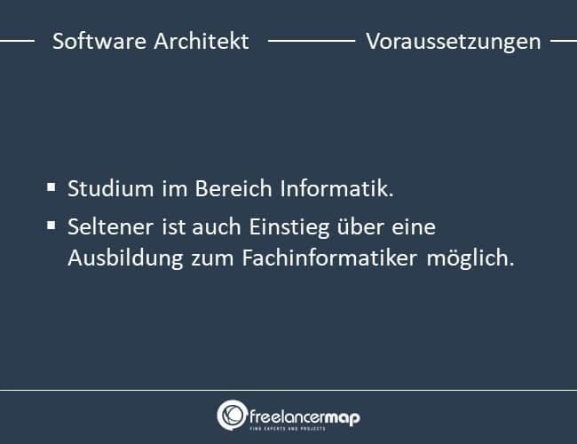 Voraussetzungen, die ein Software Architekt mitbringen muss