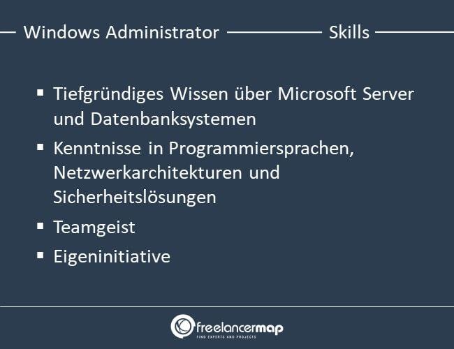 Die Skills, die ein Windows Administrator braucht