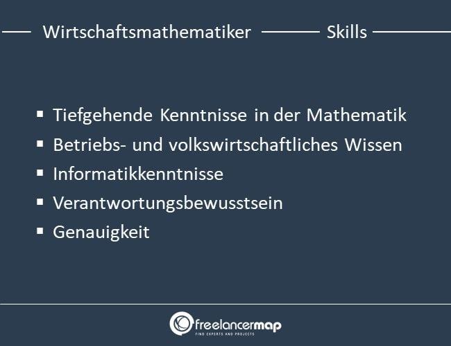 Die Skills eines Wirtschaftsmathematikers