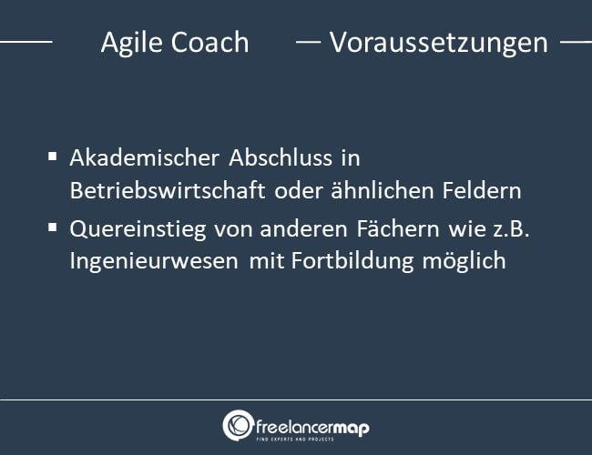 Voraussetzungen, um Agile Coach zu werden.