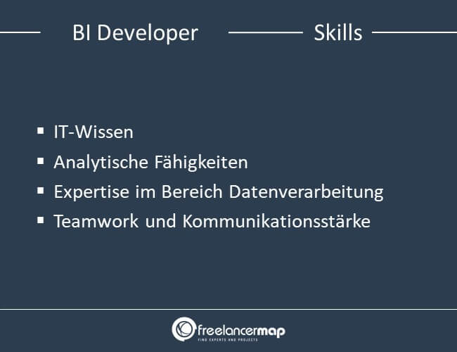 Skills eines BI Developers