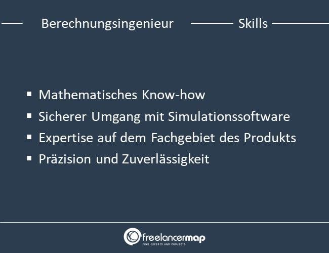 Skills eines Berechnungsingenieurs