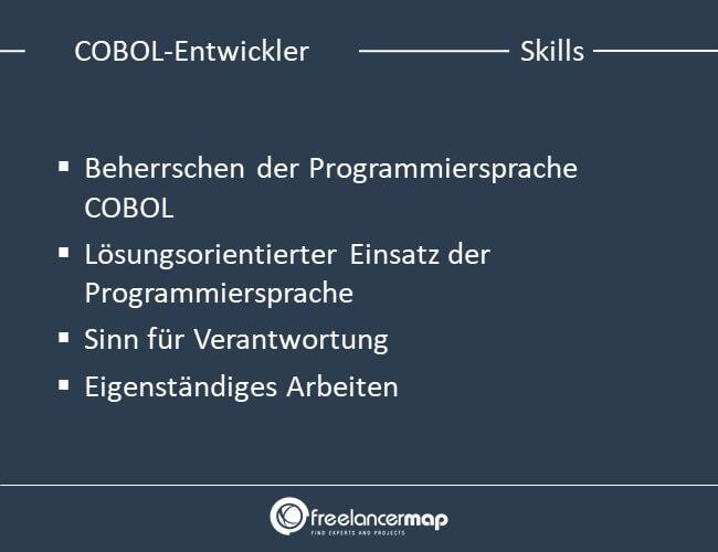 Skills eines COBOL-Entwicklers