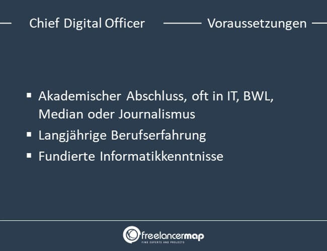 Voraussetzungen um Chief Digital Officer zu werden