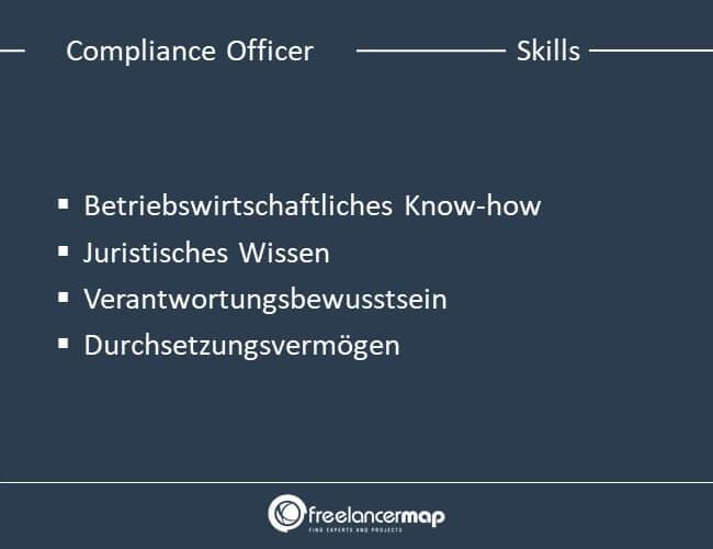 Die Skills, die von einem Compliance Officer erwartet werden.