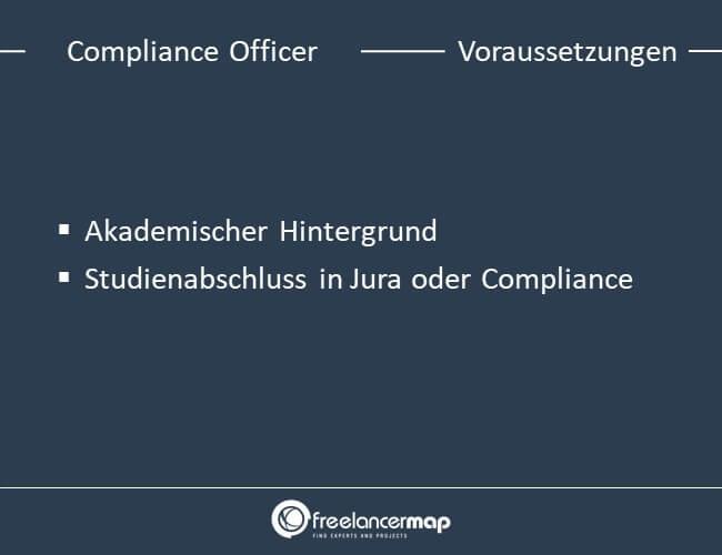 Die Voraussetzungen, die es braucht um Compliance Officer zu werden.