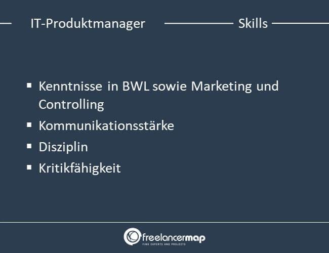 Skills eines IT-Produktmanagers