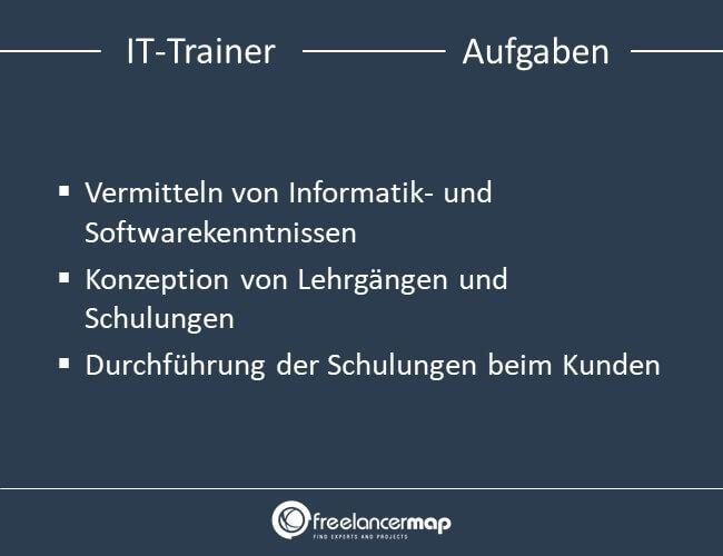 Aufgaben eines IT-Trainers