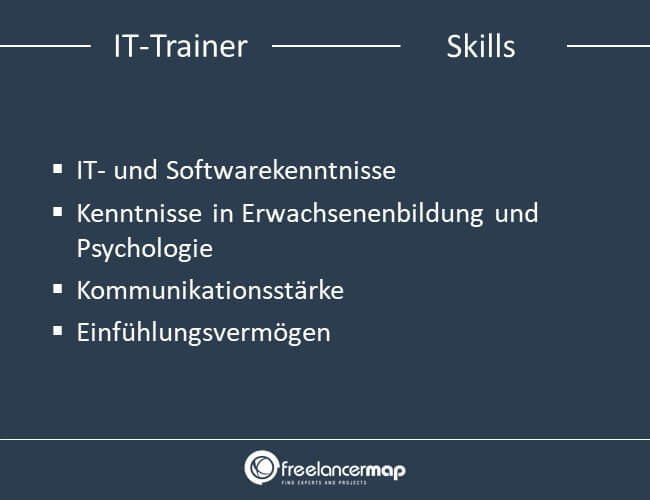 Skills eines IT-Trainers