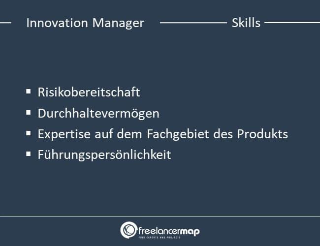 Die Skills die ein Innovation Manager braucht.