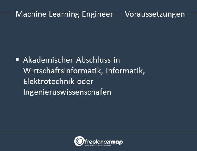 Voraussetzungen um Machine Learning Engineer zu werden