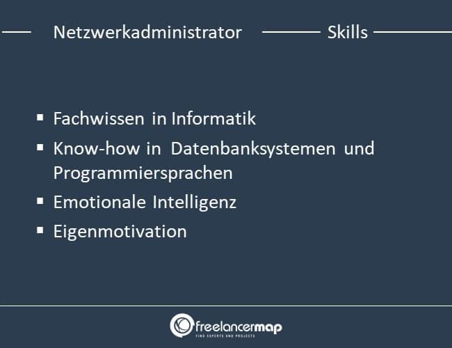 Skills eines Netzwerkadministrators