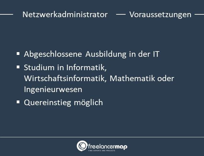 Voraussetzungen um Netzwerkadministrator zu werden