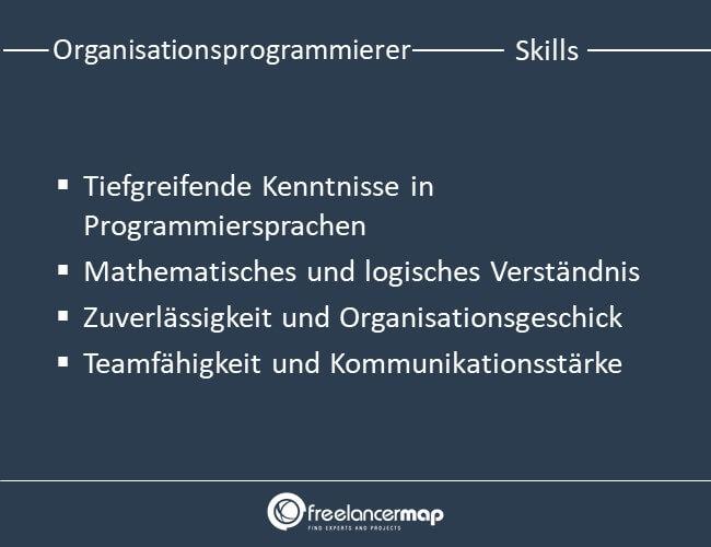 Skills eines Organisationsprogrammierers