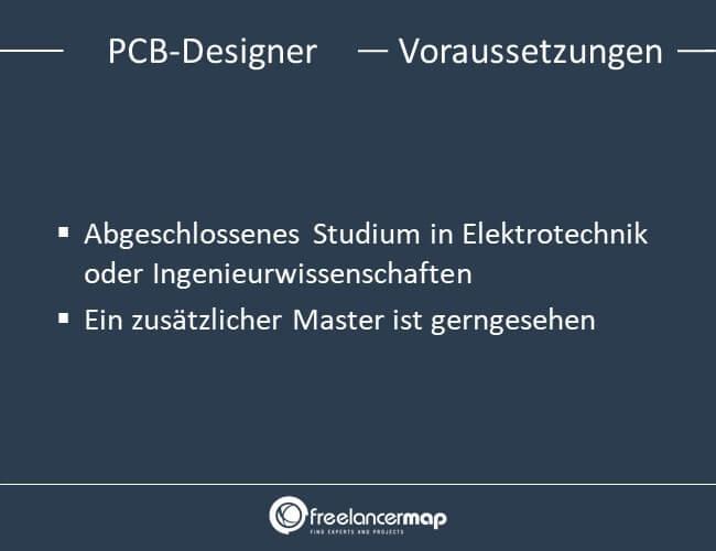Voraussetzungen um PCB-Designer zu werden