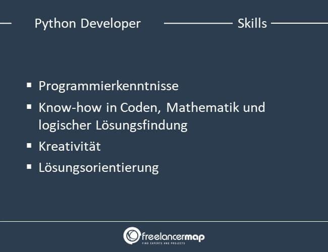 Skills eines Python Developers