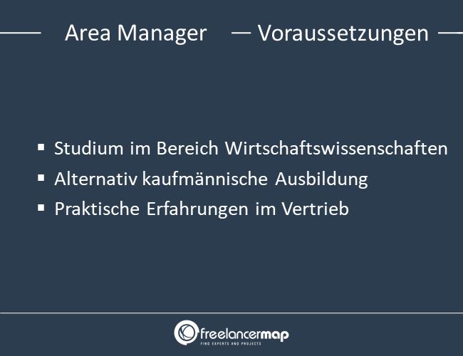 Voraussetzungen um Area Manager zu werden.
