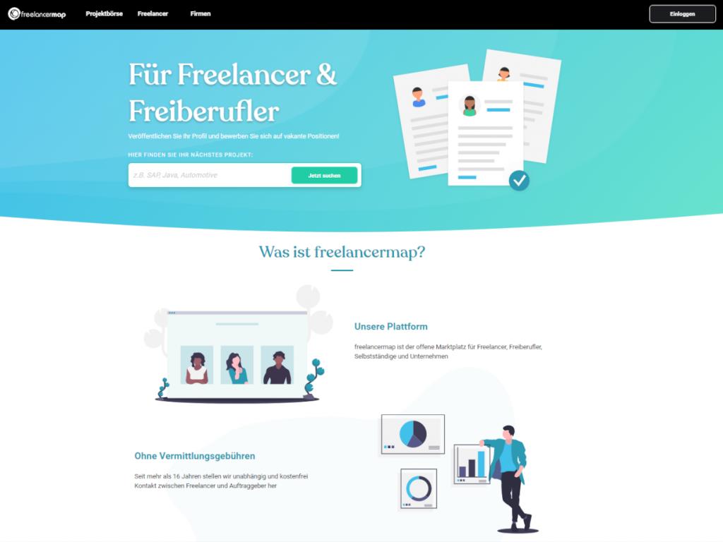 freelancermap startseite neu