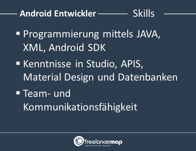 Android-Entwickler-Skills