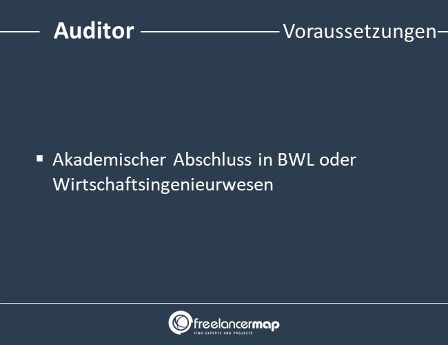 Auditor-Voraussetzungen-Einstieg