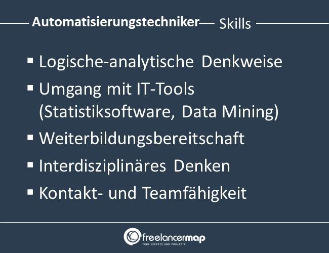 Automatisierungstechniker-Skills