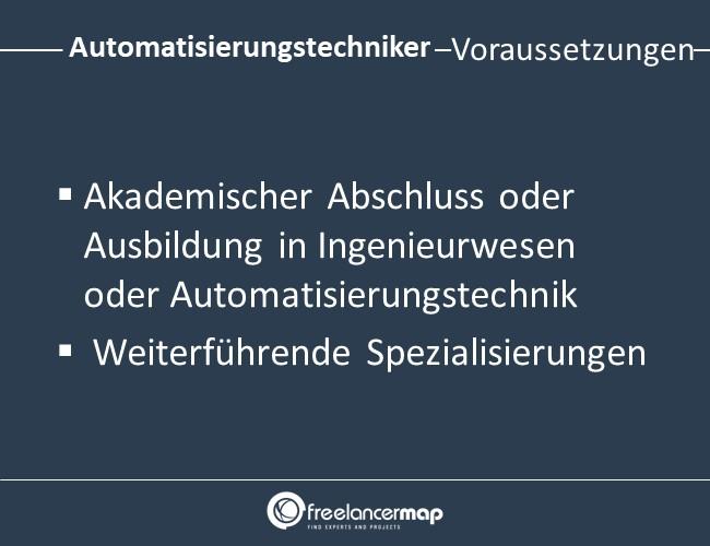 Automatisierungstechniker-Voraussetzungen-Einstieg