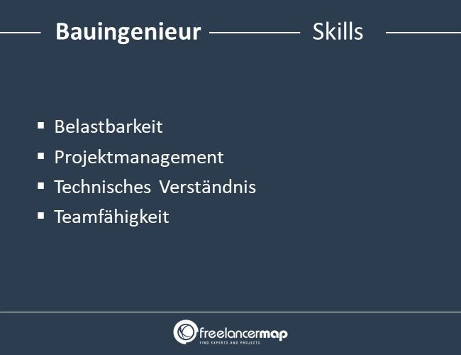 Bauingenieur-Skills