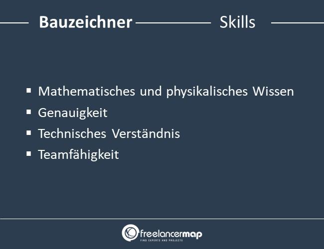 Skills eines Bauzeichners.