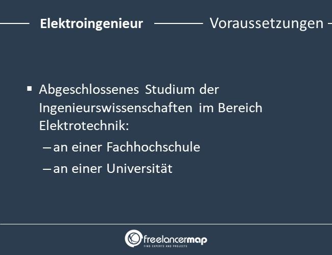 Elektroingenieur-Voraussetzungen-Einstieg
