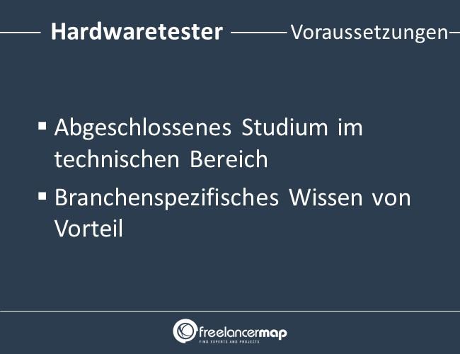 Hardwaretester-Voraussetzungen-Einstieg