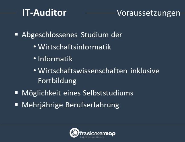 IT-Auditor-Voraussetzungen-Einstieg