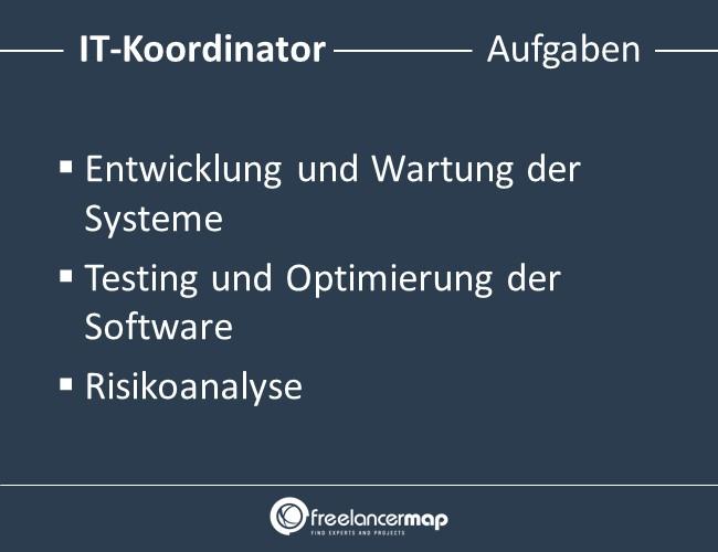 IT-Koordinator-Aufgaben