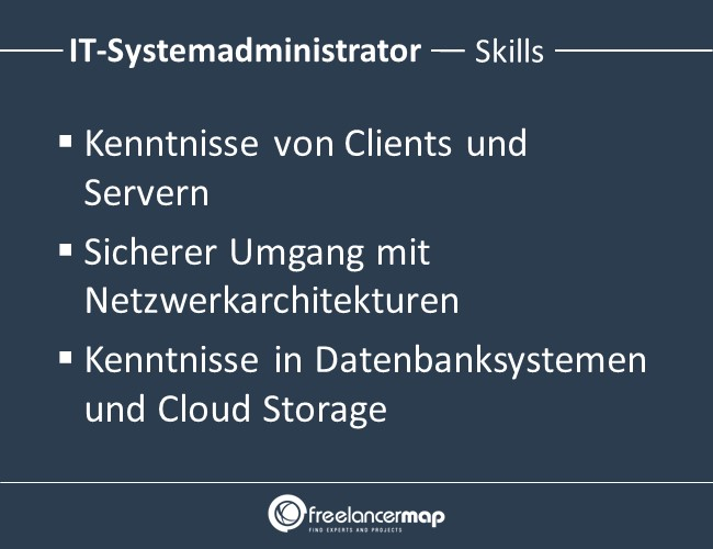 IT-Systemadministrator-Skills