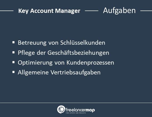 Key-Account-Aufgaben