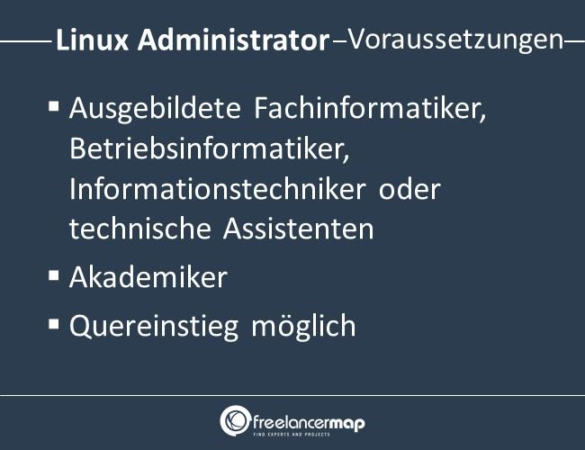 Linux-Administrator-Voraussetzungen-Einstieg