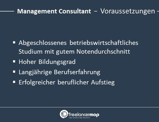 Management-Consultant-Voraussetzungen-Einstieg