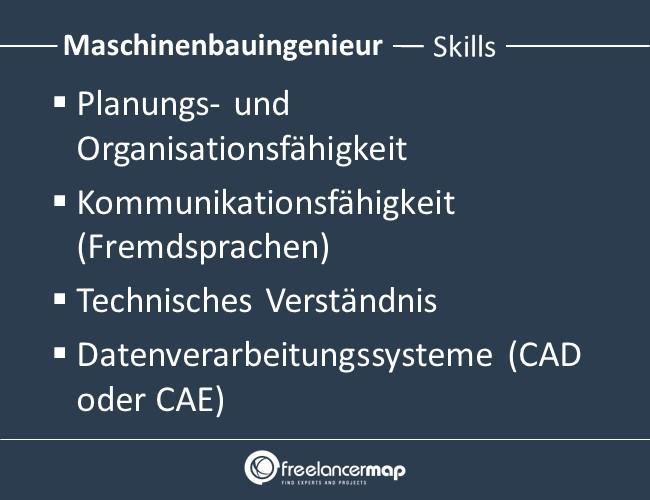 Maschinenbauingenieur-Skills