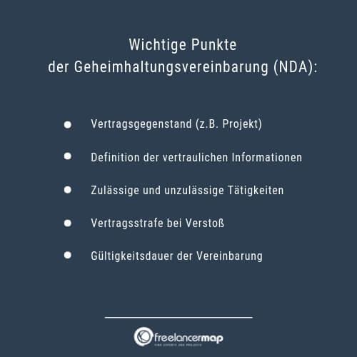 NDA-Geheimhaltungsvereinbarung-Wichtige-Punkte