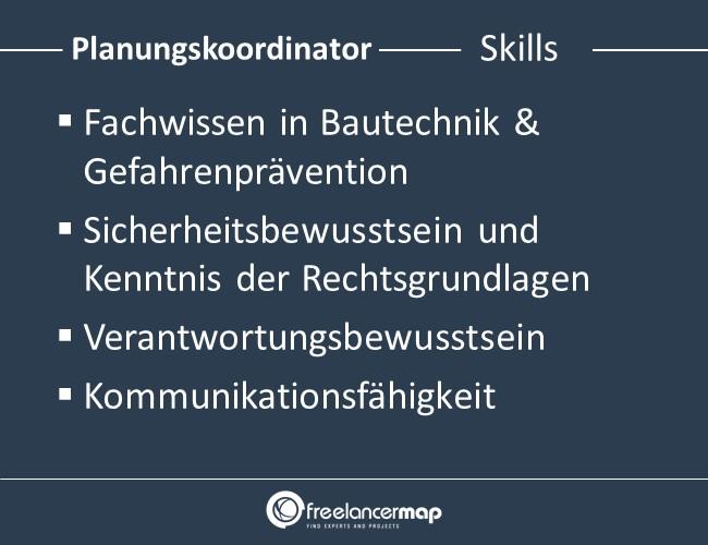 Planungskoordinator-Skills