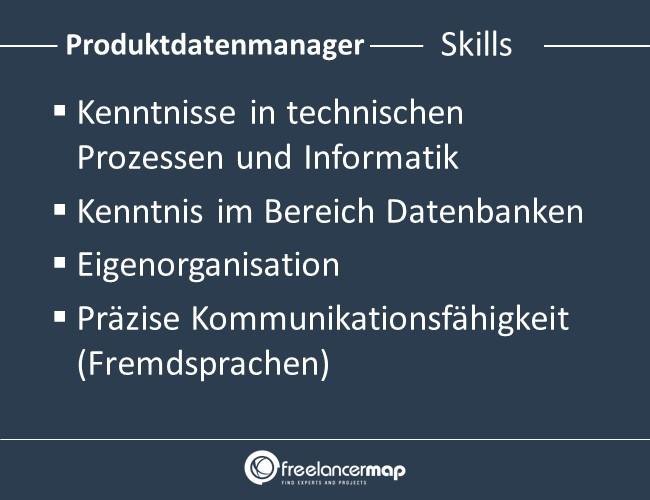 Produktdatenmanager-Skills