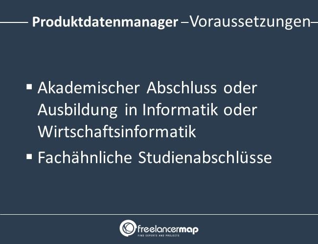 Produktdatenmanager-Voraussetzungen-Einstieg