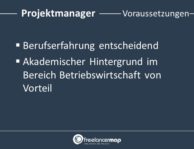 Projektmanager-Voraussetzungen-Einstieg