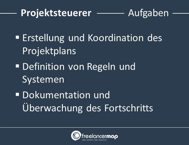 Projektsteuerer-Aufgaben