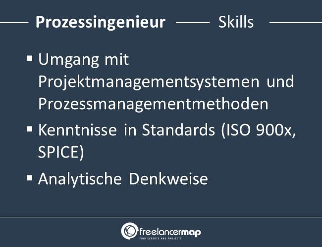 Prozessingenieur-Skills